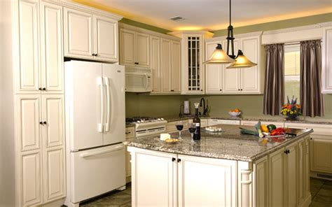 Ivory White Kitchen Cabinets In Stock Ivory Glaze Painted White Cabinets Beyond Arizona