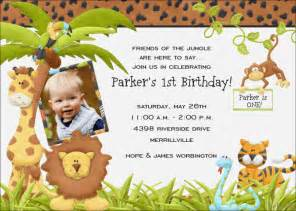 jungle birthday invitations ideas bagvania free printable invitation template