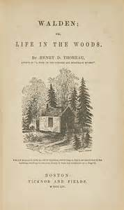 walden henry david thoreau book great american author series a political companion to