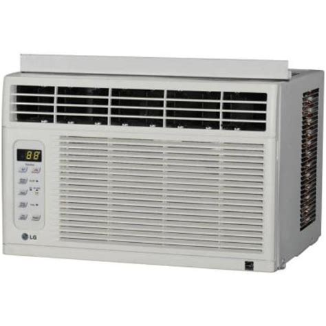lg electronics 6 000 btu 115v window air conditioner with