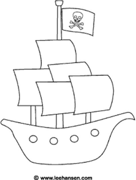 pirate ship cut out template pirate ship coloring sheet pdf speech path ideas for