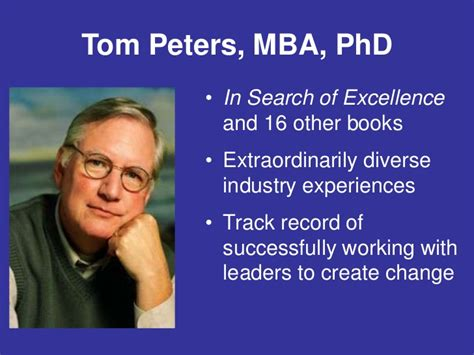 Tom Peters Mba by Quality Colloquium 2012