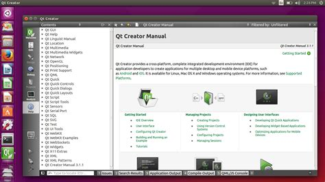 programming qt linux how to setup c qt programming environment in ubuntu 15 04