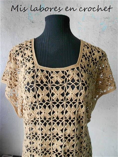 blusa rosada tejida con motivos a crochet paso a paso tejidos milagros ena mis labores en crochet blusa de flores sin cortar hilo