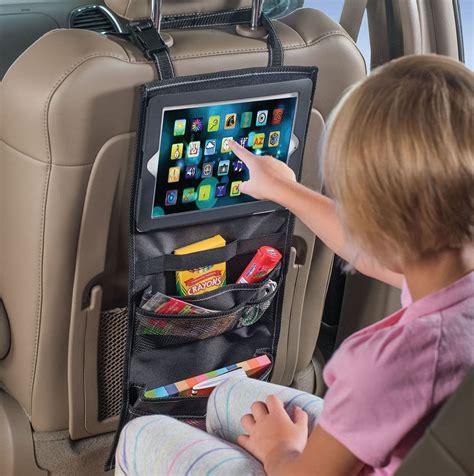 Ipad Halter Auto by High Road Padpockets Seatback Car Organizer With Ipad And
