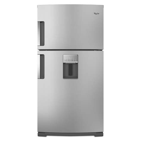 Water Dispenser For Fridge Shelf by Whirlpool Wrt771reym 21 1 Cu Ft Top Freezer