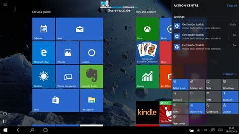 windows 10 tutorial touch screen windows 10 tutorial 7 tablet mode and the new start