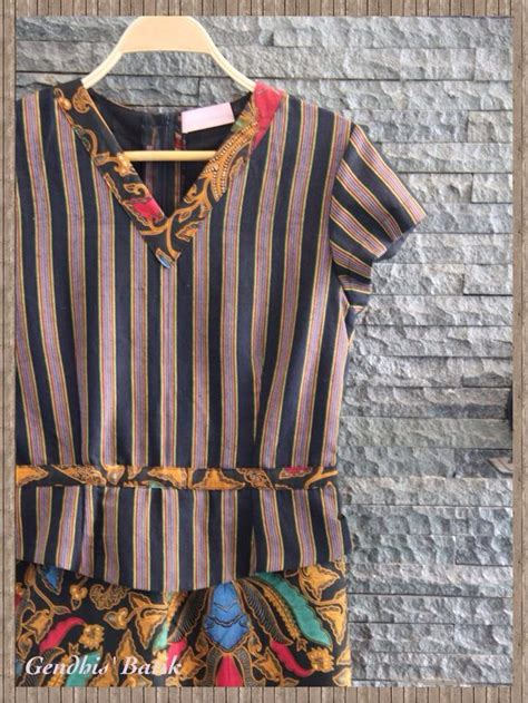 Blus Asimetris Batik 50 best baju lurik images on batik fashion