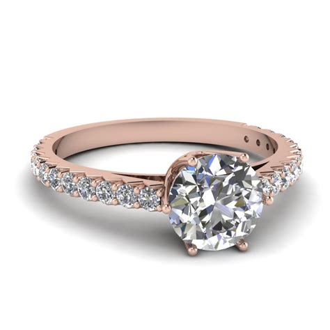 gold solitaire ring ring diamantbilds
