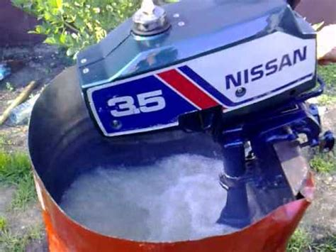nissan 3 5 hp outboard motor 1991r 2 stroke dwusuw