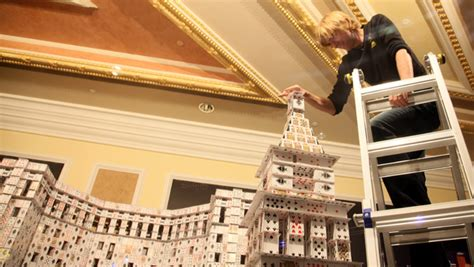 Kartu Remi House builds the world s largest house of cards laur s