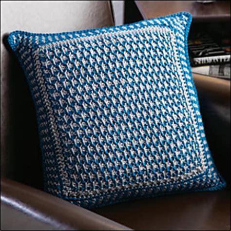 ravelry textured tunisian pillow pattern by darla j fanton