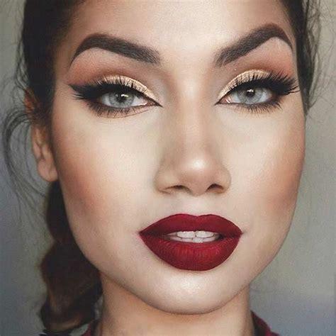 natural makeup tutorial for oily skin red lip makeup mugeek vidalondon