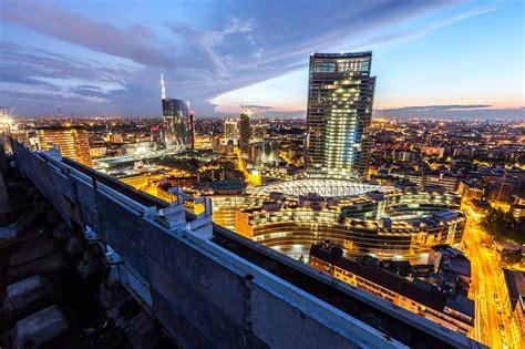 grattacieli porta garibaldi cityscapes portfolio fotografo di