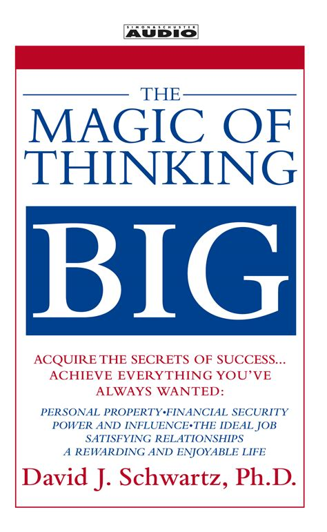 the magic of thinking the magic of thinking big audiobook by david schwartz official publisher page simon schuster