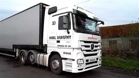 dorothy truck nigel dorothy mercedes actros