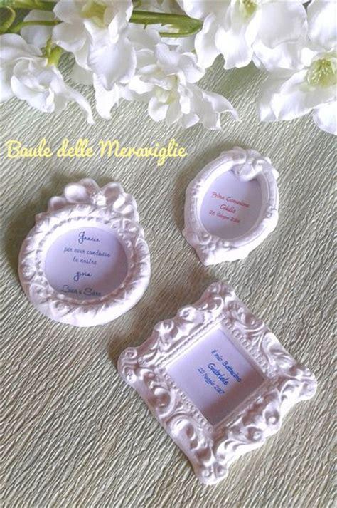 cornici bomboniere battesimo cornici in gesso segnaposto bomboniere matrimonio