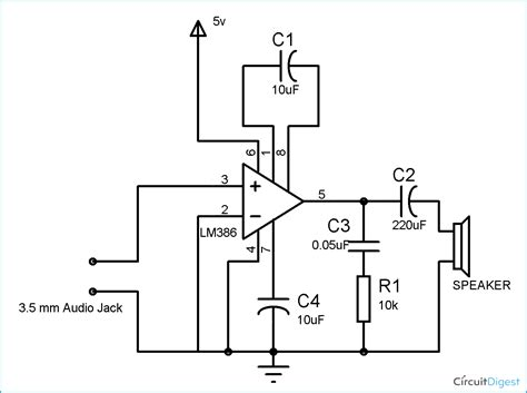 circuit diagram of speaker system circuit diagram images