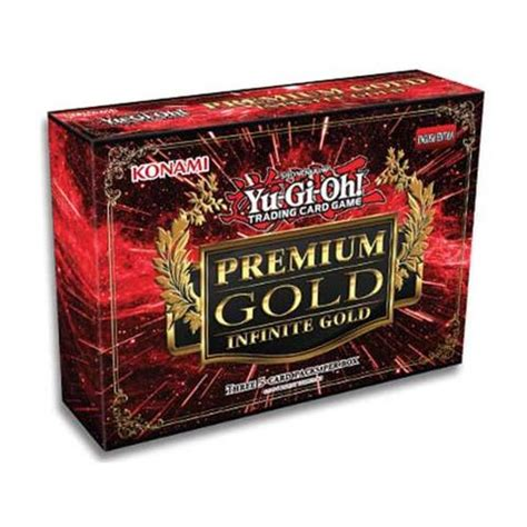 Yu Gi Oh Premium 5 yu gi oh collector set premium gold infinite gold box cherry collectables
