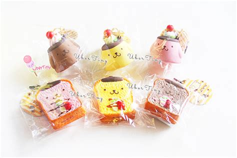 Squishy Licensed Sushi Delicious Original pom pom purin toast squishy licensed 183 uber tiny 183 store powered by storenvy