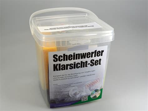Scheinwerfer Polieren Klarlack by Scheinwerfer Aufbereitung Set Auch R 252 Cklichter Lackieren