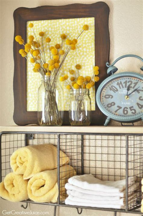 yellow decor 25 best ideas about yellow bathroom decor on pinterest