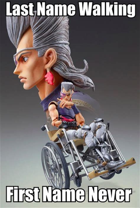 Wheelchair Meme - wheelchair polnareff wheelchair drake know your meme