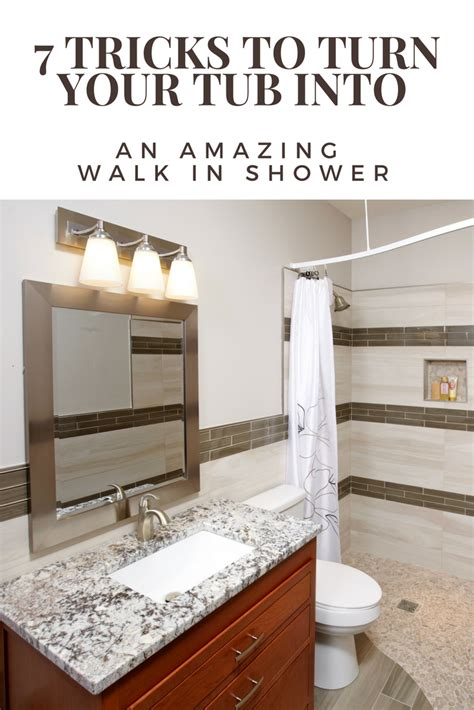 walk in shower with tub 7 tricks to turn a tub into a walk in shower