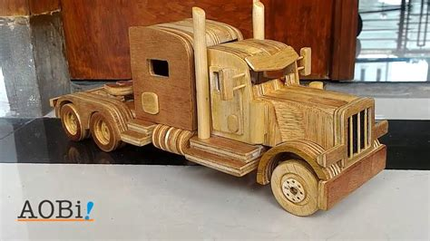 wooden kenworth truck wooden truck peterbilt