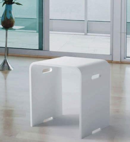 Gewicht Corian by Douchebankje In Corian White
