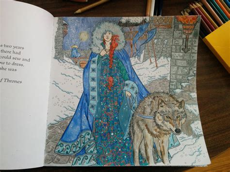 thrones colouring book coloured in să supraviețuiești p 226 nă apare următorul sezon of