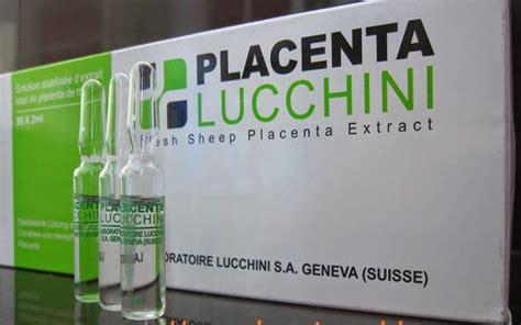 Placenta Lucchini placenta lucchini for anti aging cik puan inash