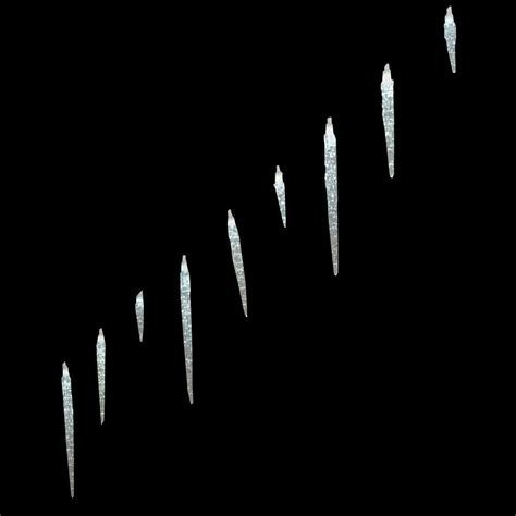 white icicle lights home accents 25 light led white icicle lights with