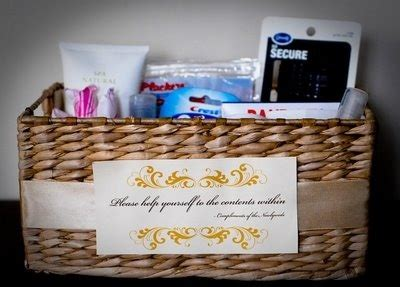 top 25 ideas about wedding toiletry basket on pics reception seating chart and
