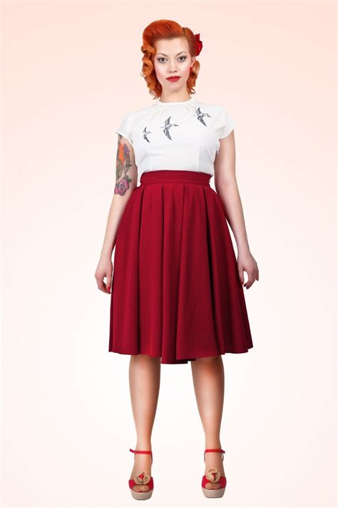 swing rock 50s alison swing skirt in