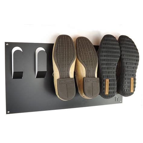 wall mount shoe storage stylish wall mounted shoe rack by the metal house