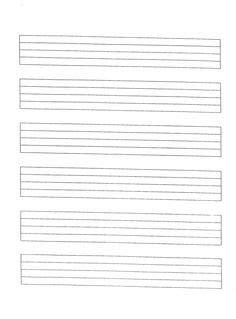 printable wide staff paper staff paper photo guitar instruction pinterest best
