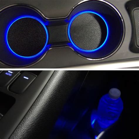 cup lights accentglowled toyota camry 2012 2014 center console