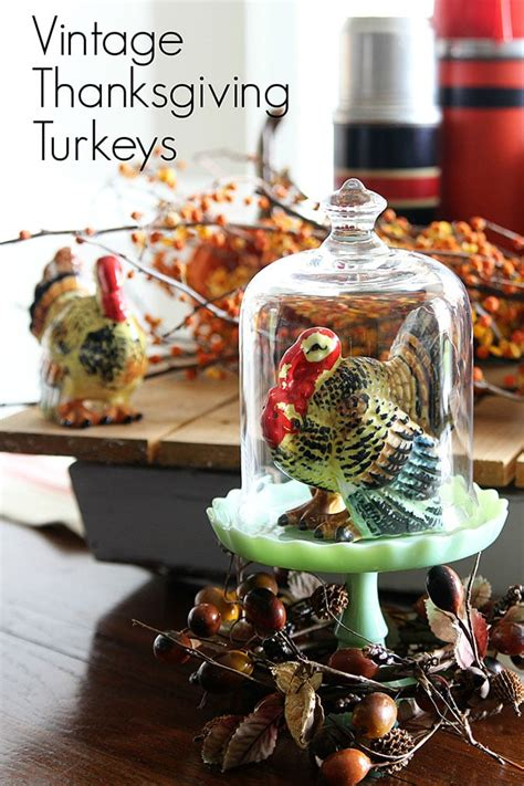 vintage thanksgiving turkey decor house of hawthornes