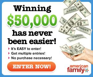 American Family Sweepstakes Winners - american family sweepstakes who said nothing in life is free