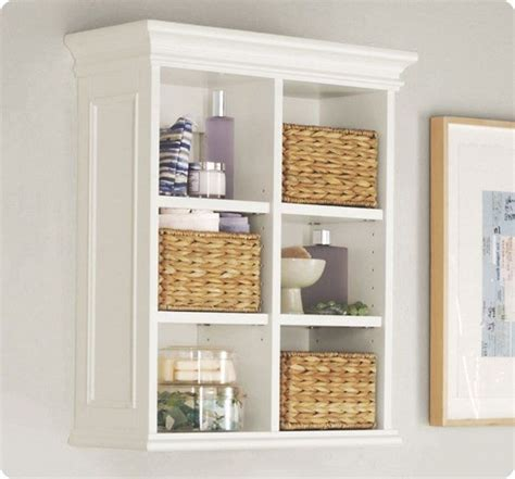 Bathroom Wall Storage Wall Shelving Unit
