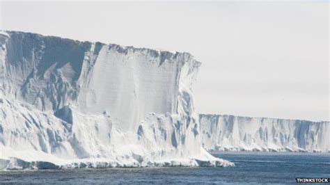 Shelf Antarctica by Antarctic Shelf Thinning Speeds Up The Millennium Report
