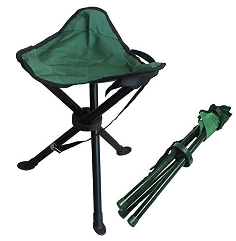 alex carseon folding stool  small lightweight portable seat foldable tripod camp chair
