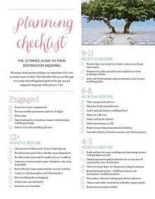 the ultimate destination wedding checklist mywedding