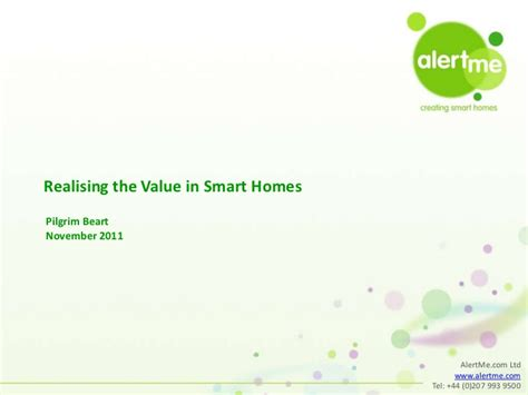 releasing the value in smart homes