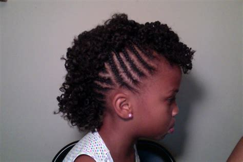 childs natural hair mohawk youtube