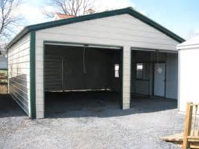 Build A Two Car Garage by Nice Metal Garage Building 7 2 Car Garage Metal Building