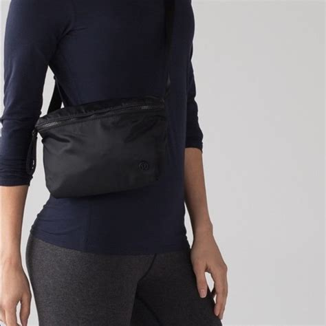 lululemon go lightly crossbody bag 20 off lululemon athletica handbags nwt lululemon go