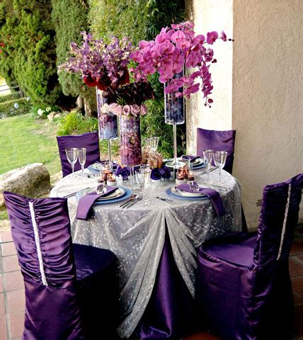 purple silver and white wedding table decorations purple wedding table decor architecture interior design