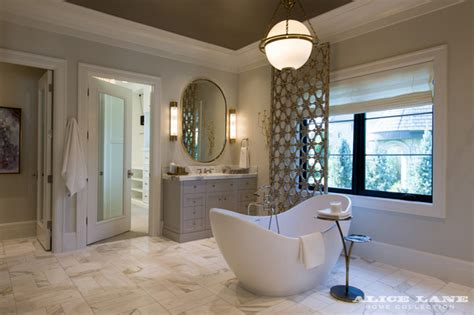 modern french bathroom french moderne manor modern bathroom by alice lane